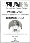 CRONOLOGIA - PADRE ASSIS