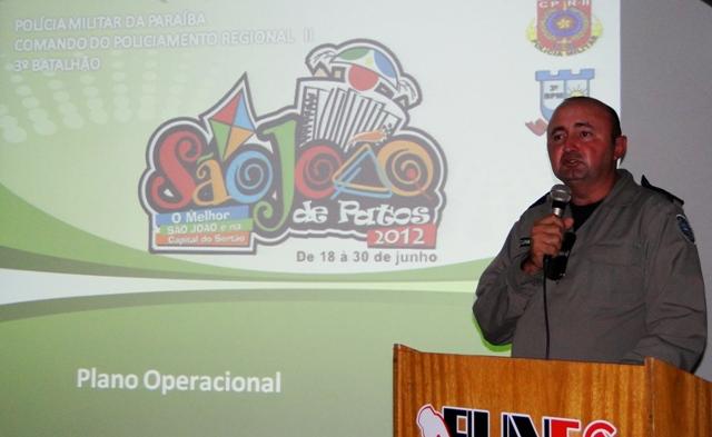 FUNES realiza discussão  sobre plano de ação para o São João de Patos