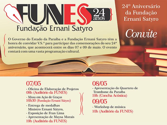 FUNES Comemora 24º Aniversário.