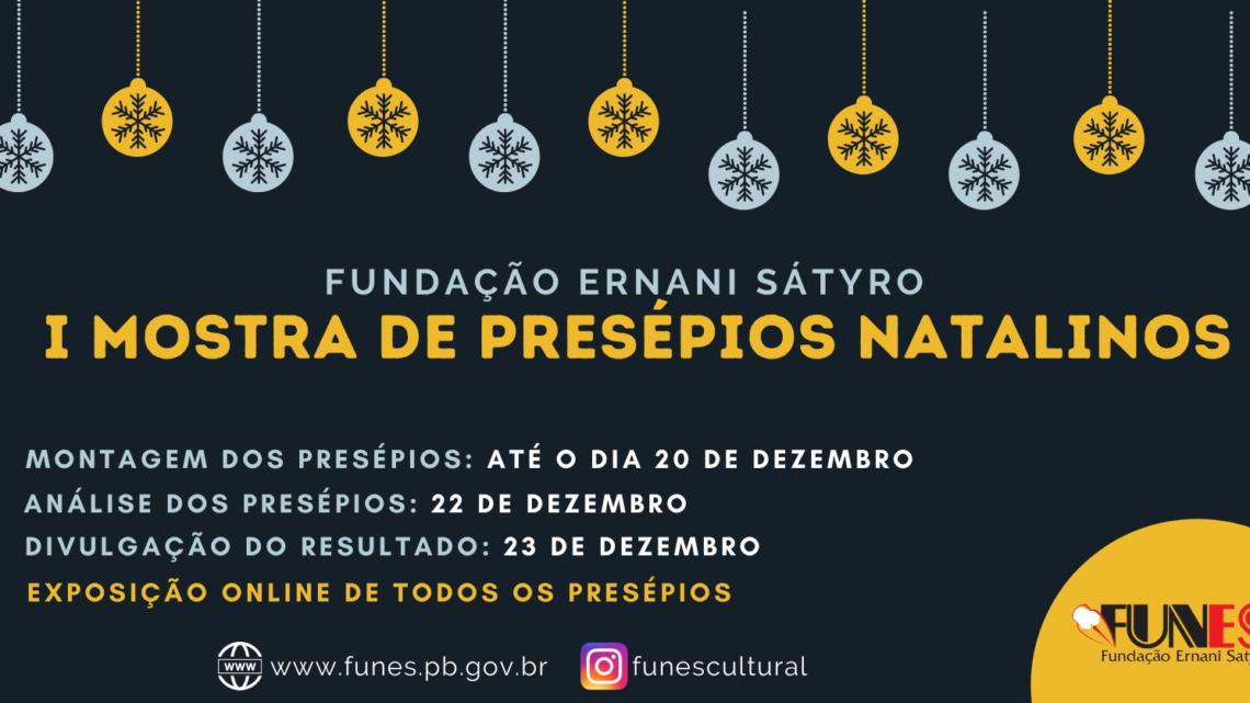 Fundação Ernani Sátyro lança mostra online de presépios natalinos